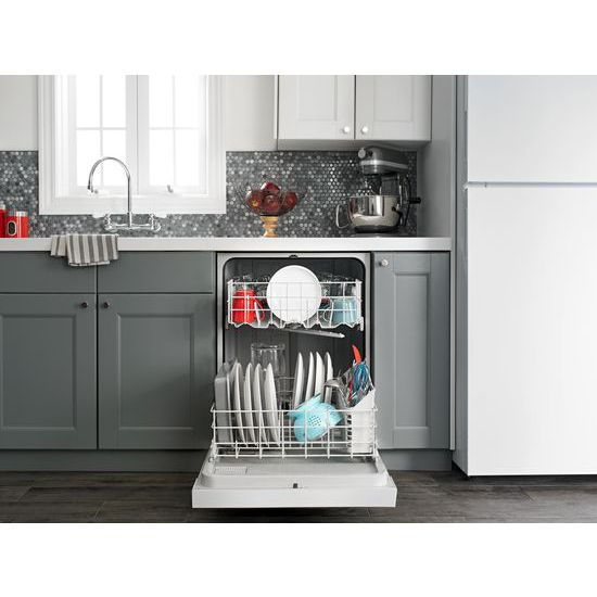 Model: ADB1400AGS | Amana Dishwasher with Triple Filter Wash System
