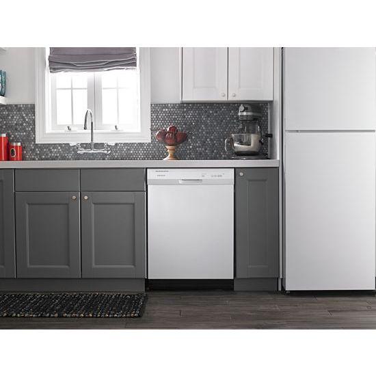 Model: ADB1400AGW | Amana Dishwasher with Triple Filter Wash System