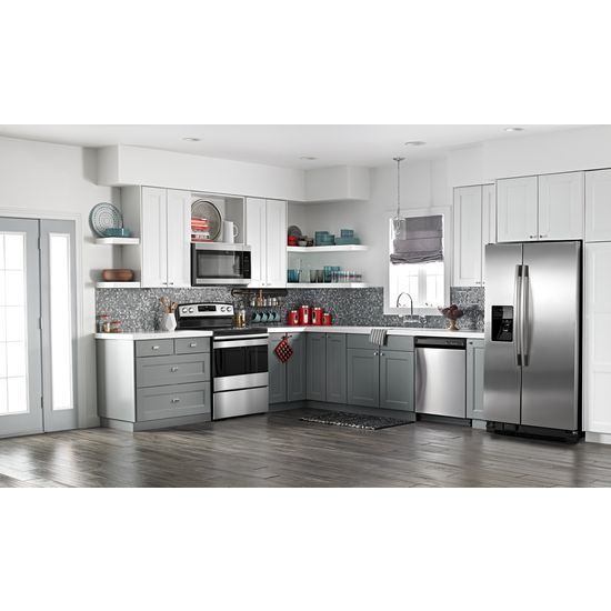 Model: AER6603SFS | Amana 30-inch Electric Range with Self-Clean Option