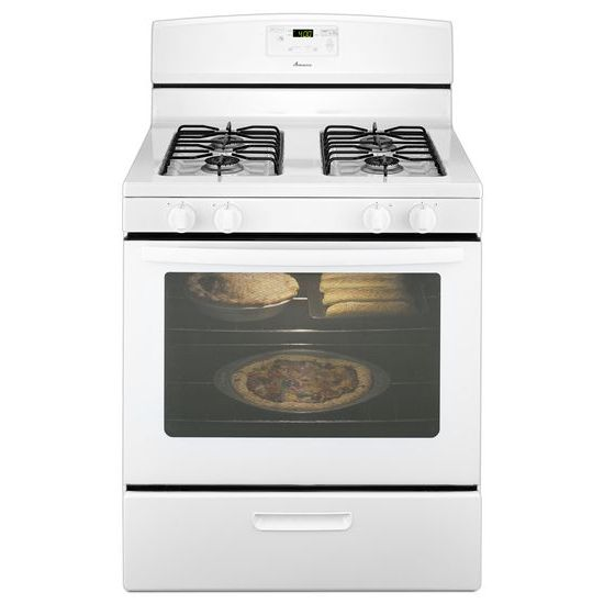 Amana 30-inch Gas Range with Easy Touch Electronic Controls