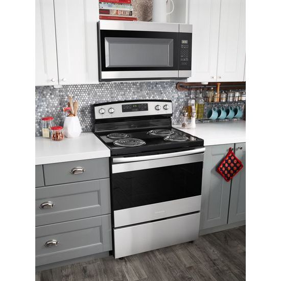 Model: AMV2307PFS   Amana 1.6 Cu. Ft. Over-the-Range Microwave with Add 0:30 Seconds