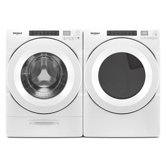 Model: WFW5620HW | Unbranded 4.5 cu. ft. Closet-Depth Front Load Washer with Load & Go™ Dispenser