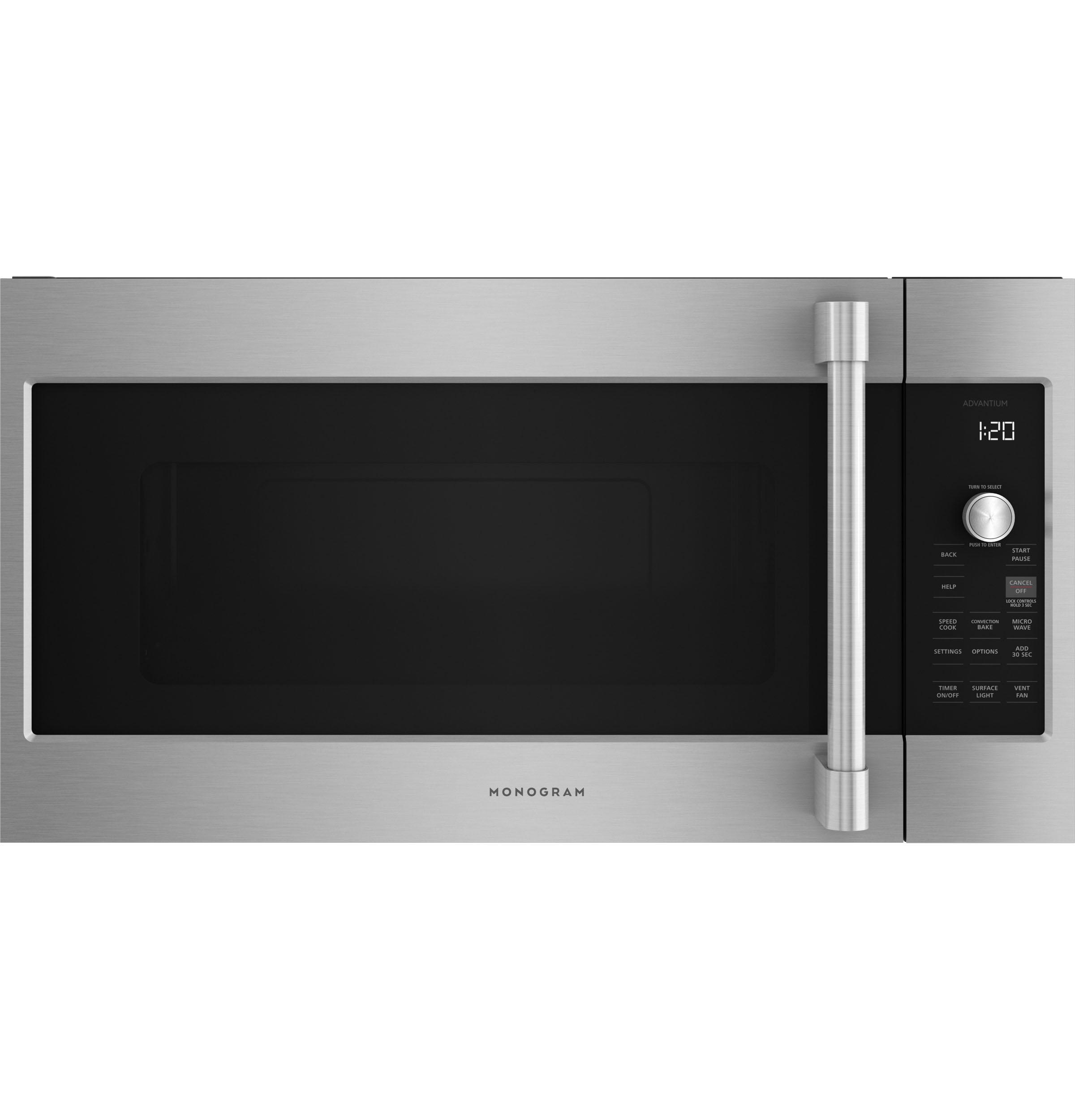 Monogram Monogram Advantium® 120 Above-the-Cooktop Speedcooking Oven