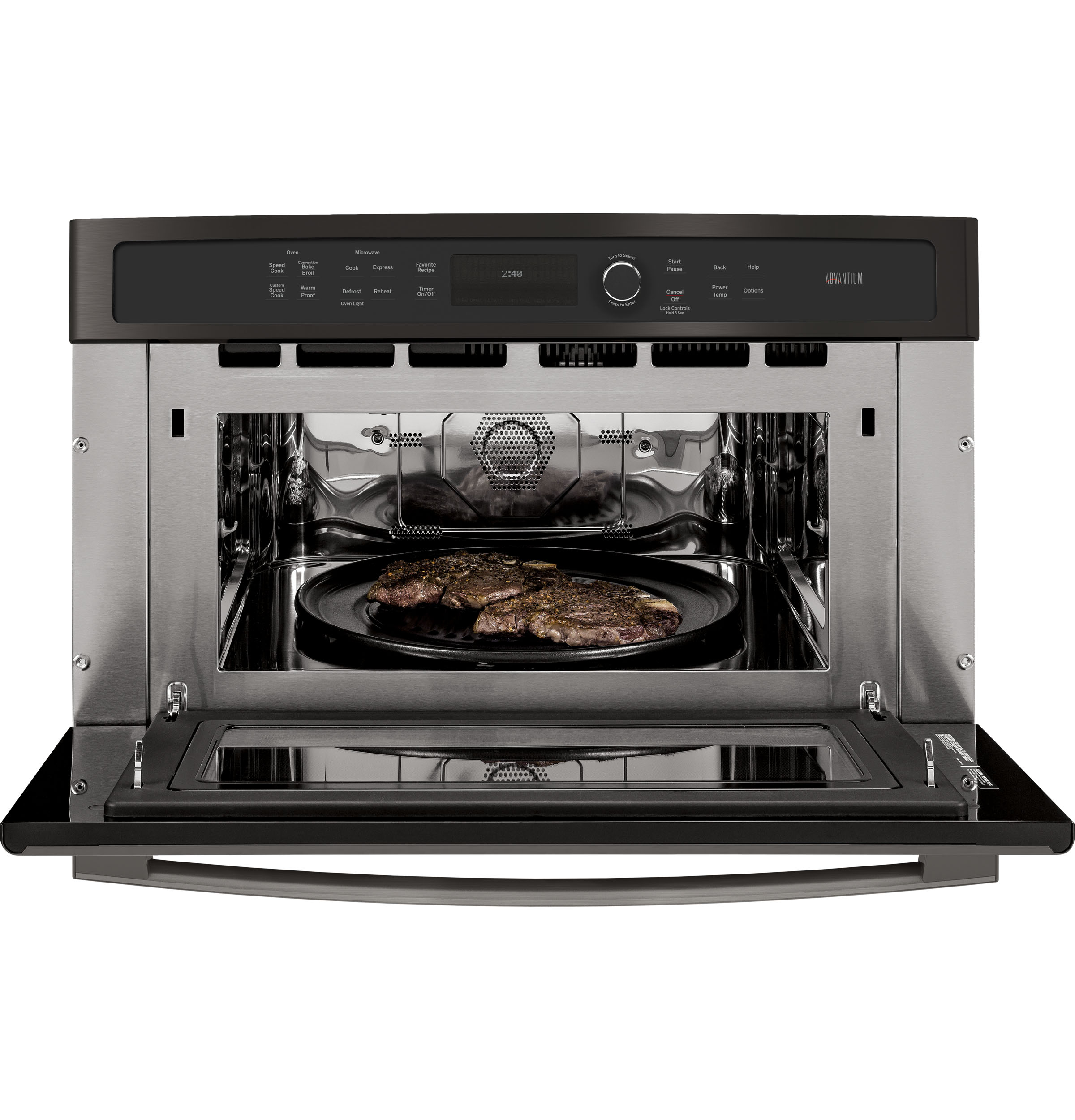 Model: PSB9240BLTS | GE Profile GE Profile™ 30 in. Single Wall Oven with Advantium® Technology