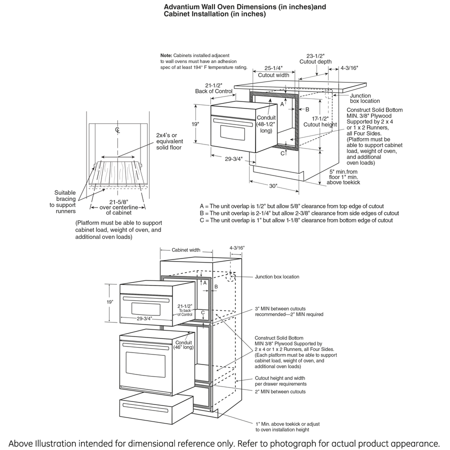 Model: PSB9120EFES   GE Profile GE Profile™ 30 in. Single Wall Oven with Advantium® Technology