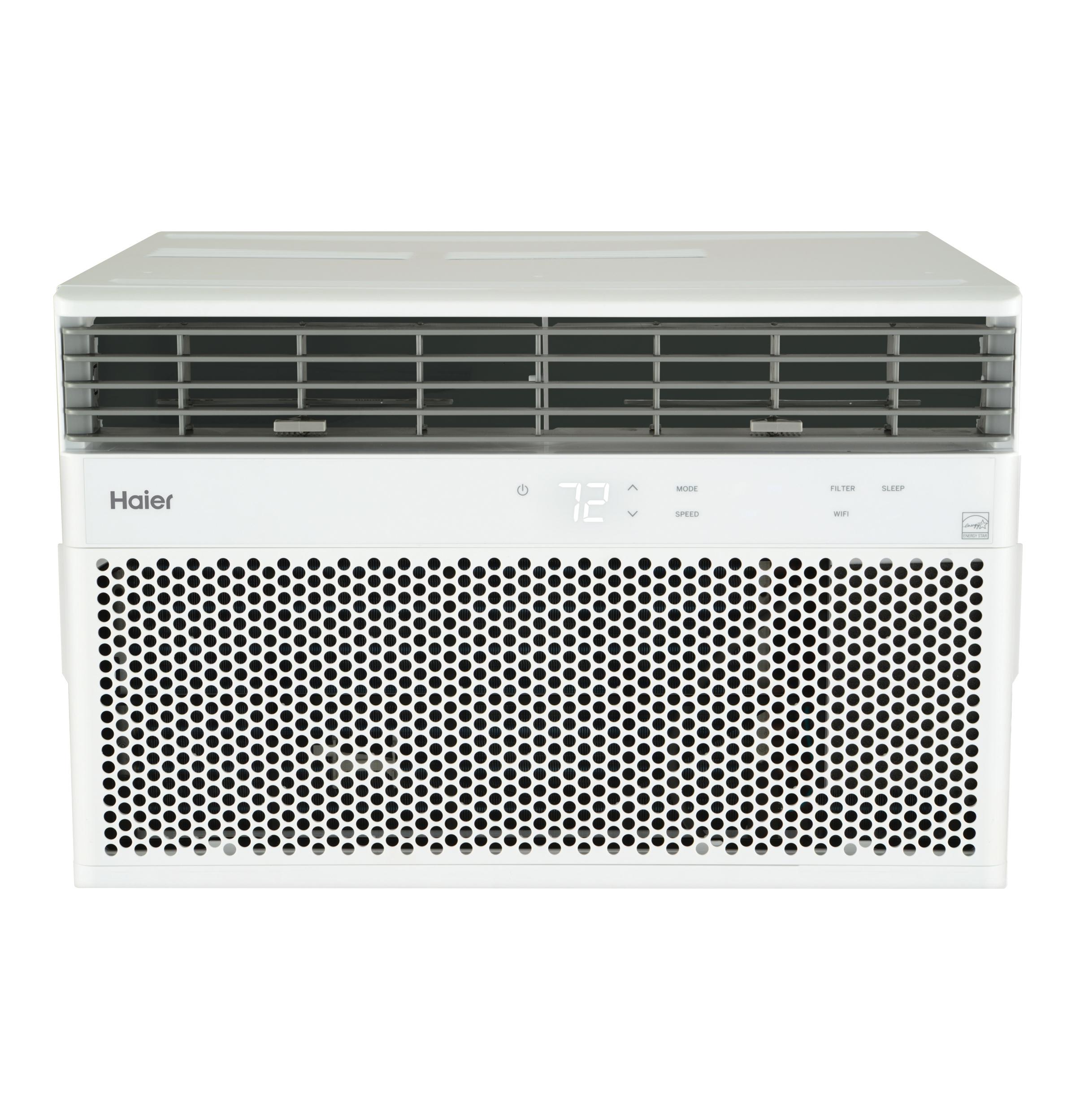 Cafe Haier® ENERGY STAR® 18,000/17,800 BTU 230/208 Volt Smart Electronic Window Air Conditioner