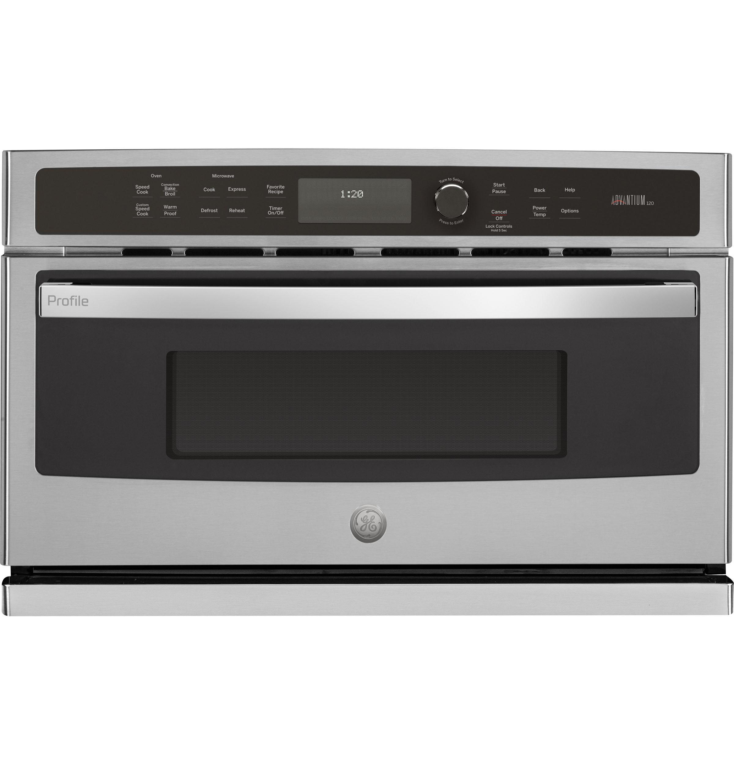 Model: PSB9120SFSS   GE Profile GE Profile™ 30 in. Single Wall Oven with Advantium® Technology
