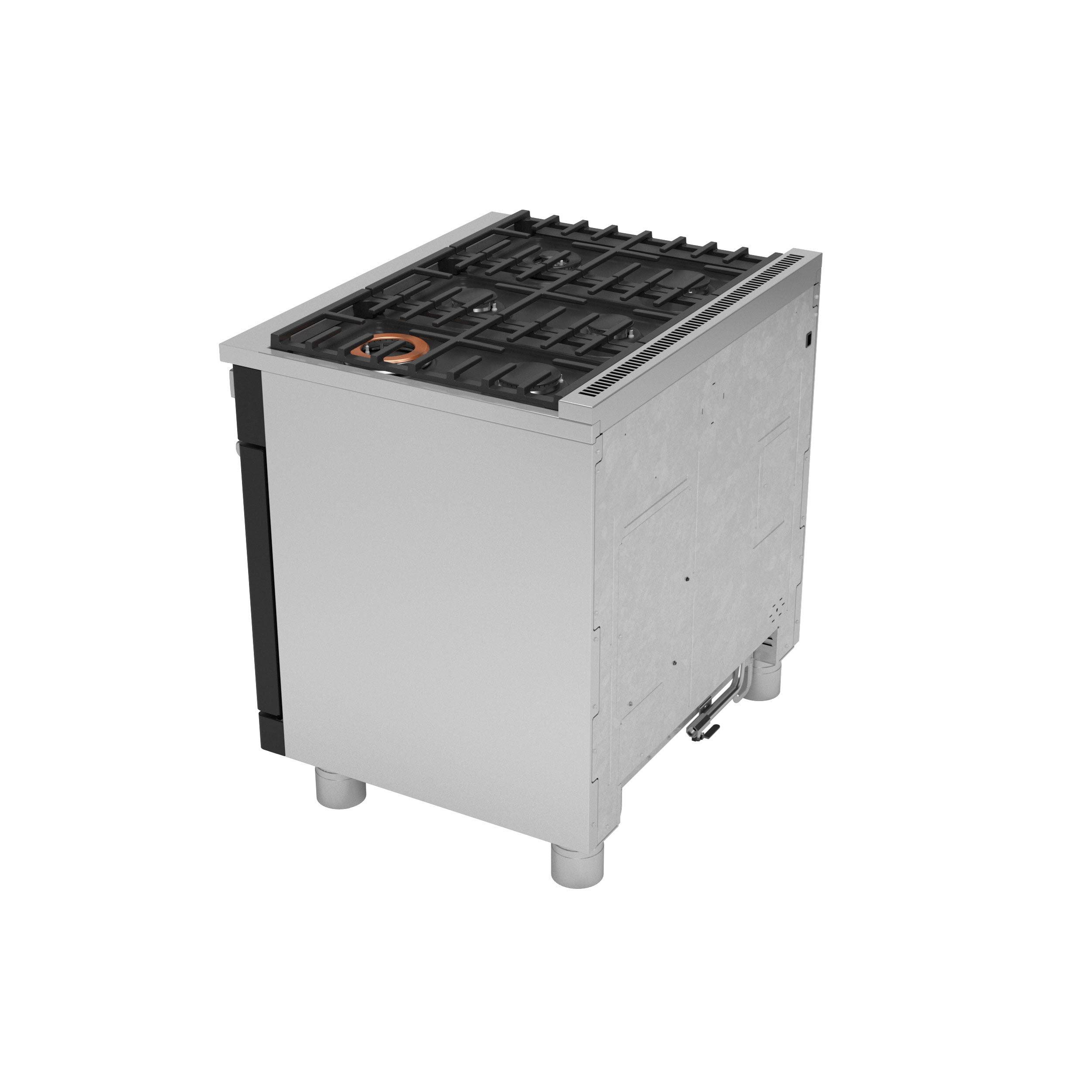 "Model: C2Y366P3TD1 | Cafe Café™ 36"" Smart Dual-Fuel Commercial-Style Range with 6 Burners (Natural Gas)"