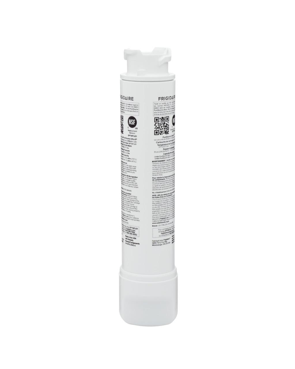 Model: EPTWFU01 | Frigidaire PureSource Ultra® II Water and Ice Refrigerator Filter