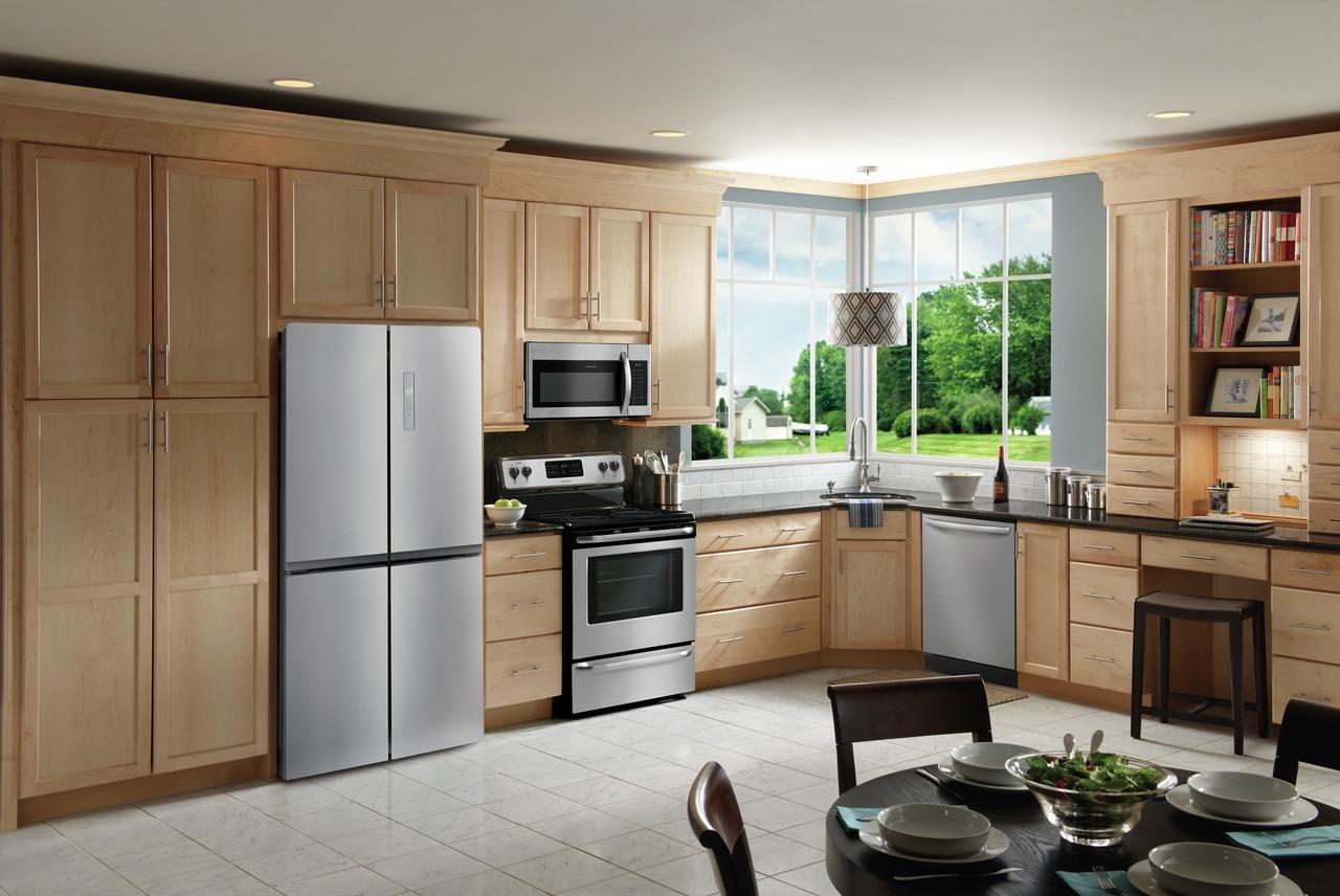Model: FFBN1721TV   Frigidaire 17.4 Cu. Ft. 4 Door Refrigerator