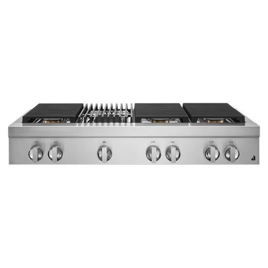 """Jenn-Air NOIR™ 48"""" Gas Professional-Style Rangetop with Grill"""