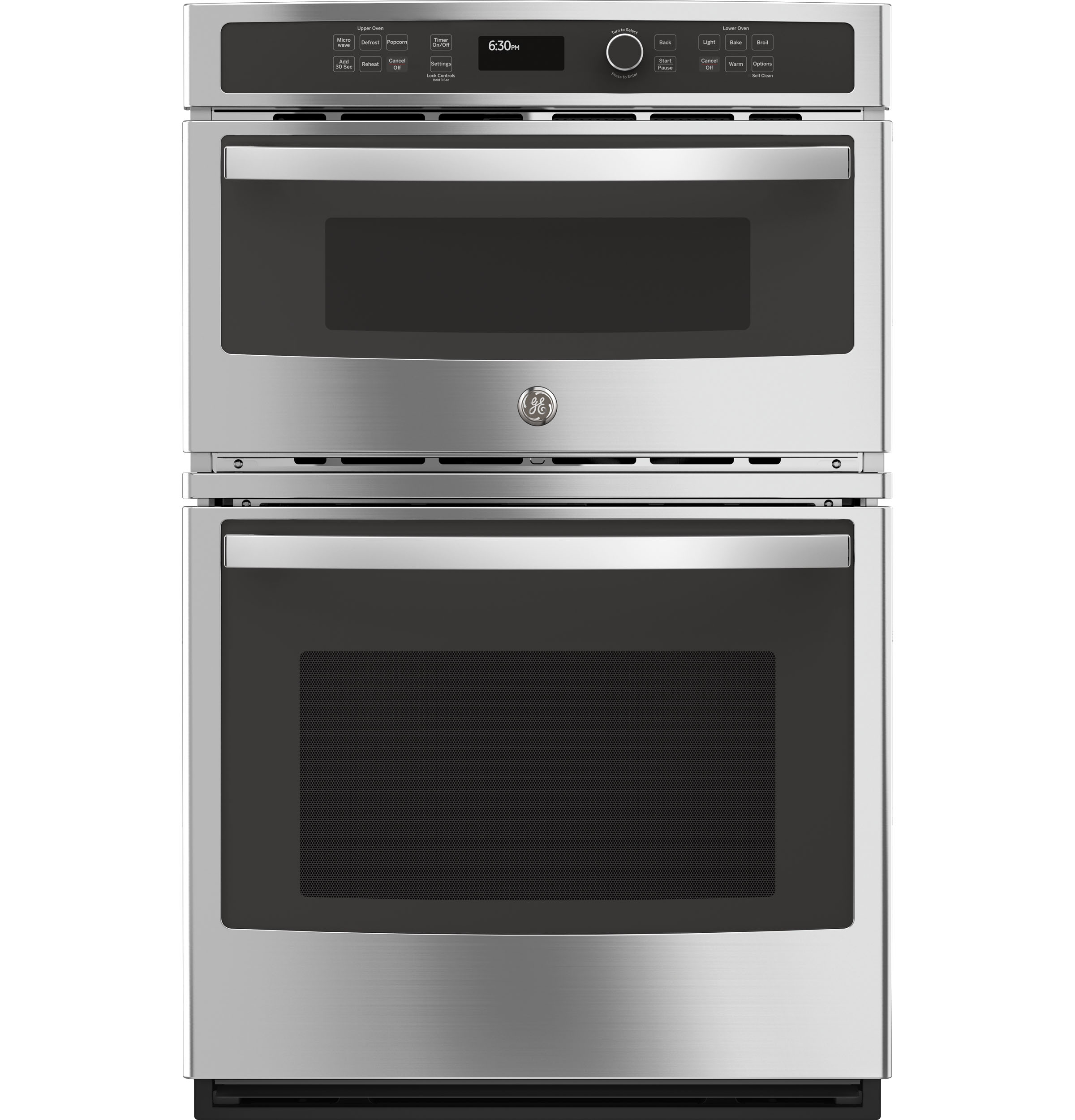 """GE GE® 27"""" Built-In Combination Microwave/Thermal Wall Oven"""