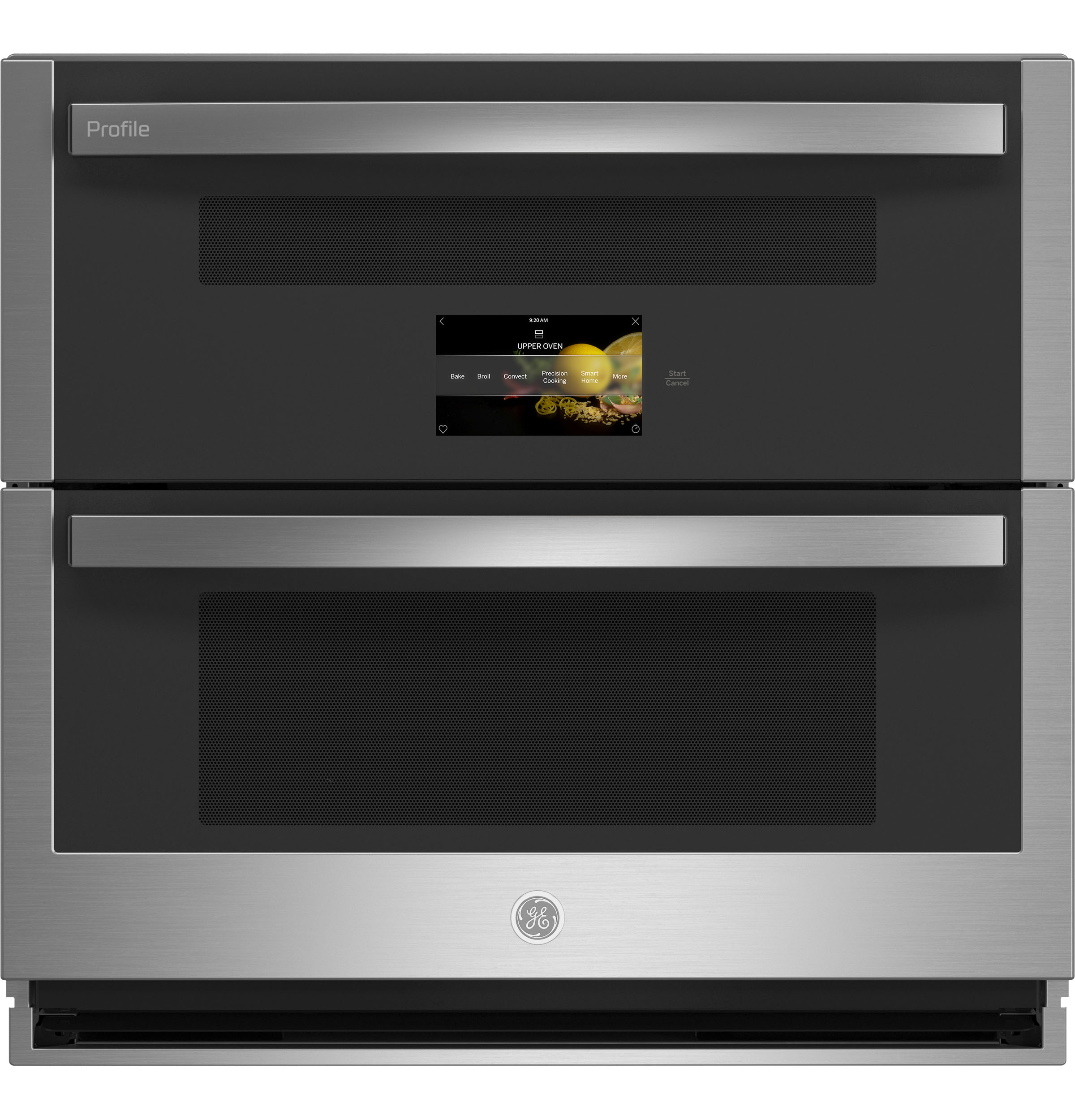 "GE Profile GE Profile™ 30"" Smart Built-In Twin Flex Convection Wall Oven"
