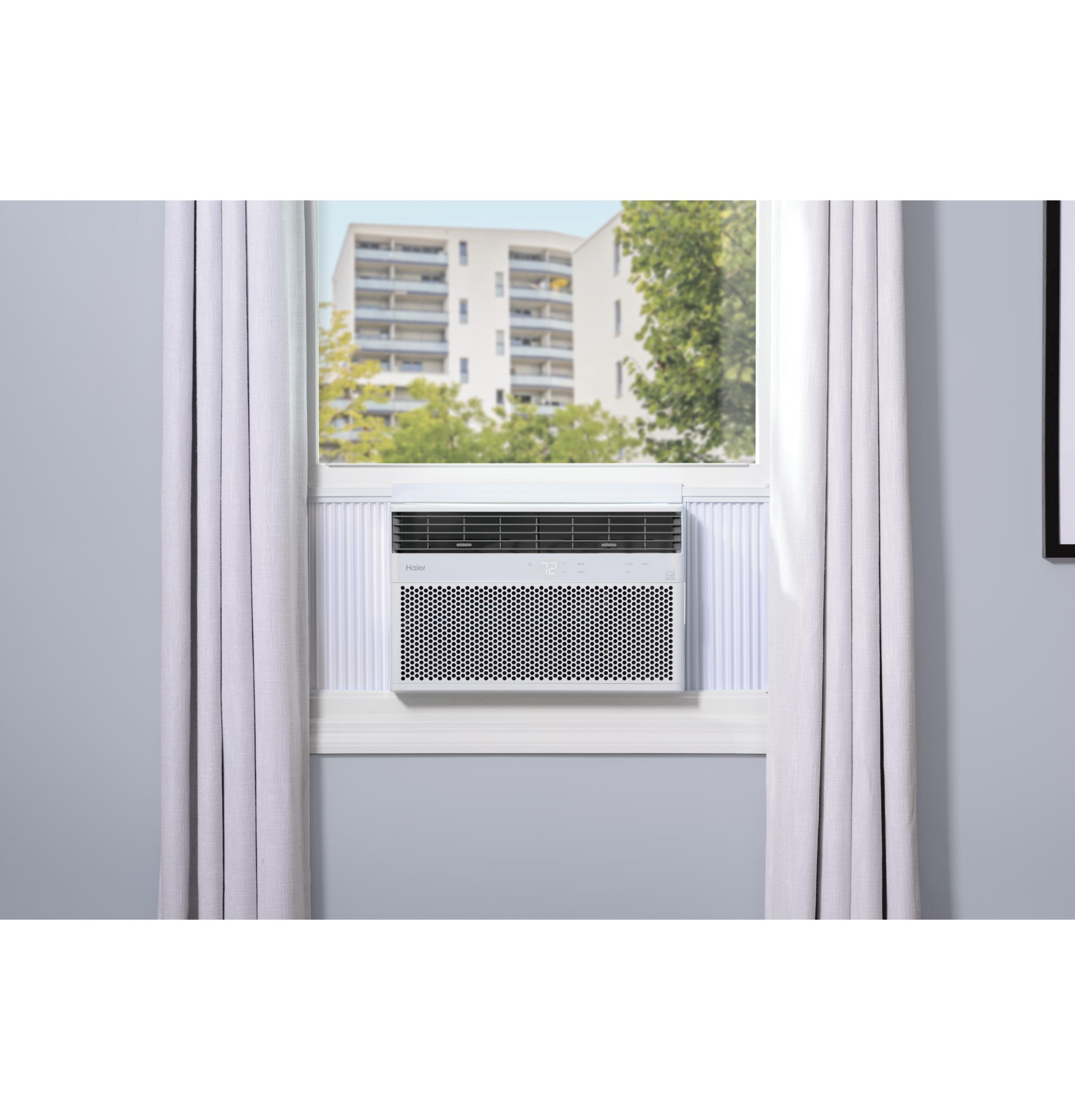 Model: QHEK18AC | Cafe Haier® ENERGY STAR® 18,000/17,800 BTU 230/208 Volt Smart Electronic Window Air Conditioner