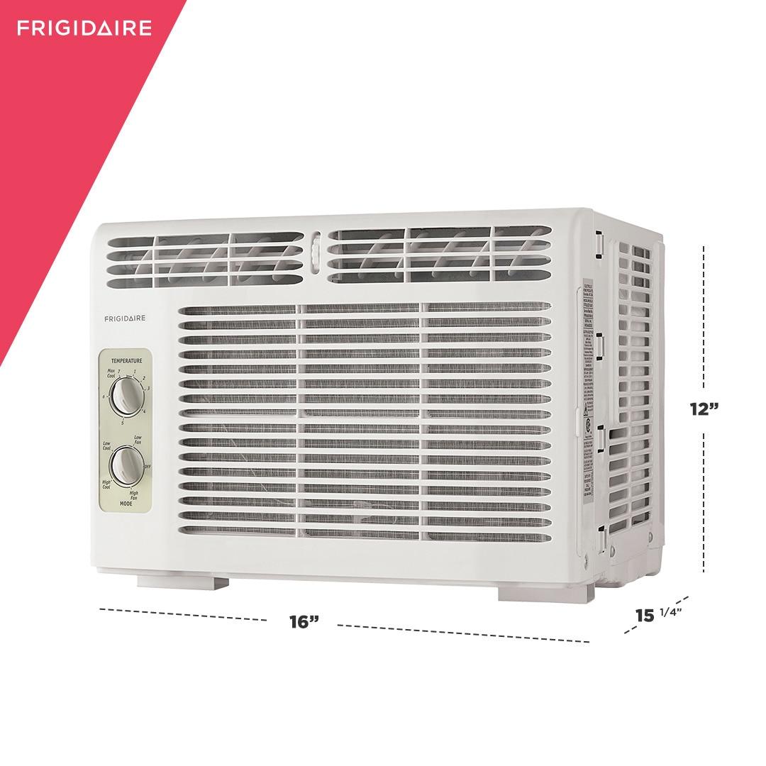 Model: FFRA051WA1 | Frigidaire 5,000 BTU Window-Mounted Room Air Conditioner