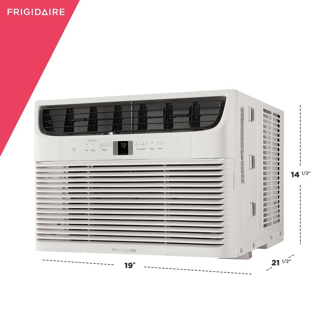 Model: FFRA102WA1 | Frigidaire 10,000 BTU Window-Mounted Room Air Conditioner