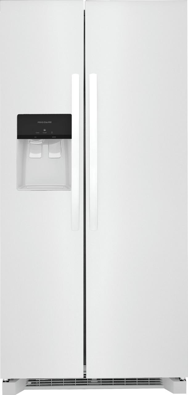"Frigidaire 22.3 Cu. Ft. 33"" Standard Depth Side by Side Refrigerator"