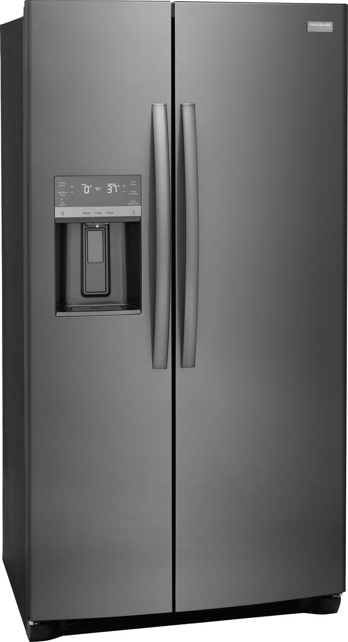 "Model: GRSC2352AD | Frigidaire Gallery 22.3 Cu. Ft. 36"" Counter Depth Side by Side Refrigerator"