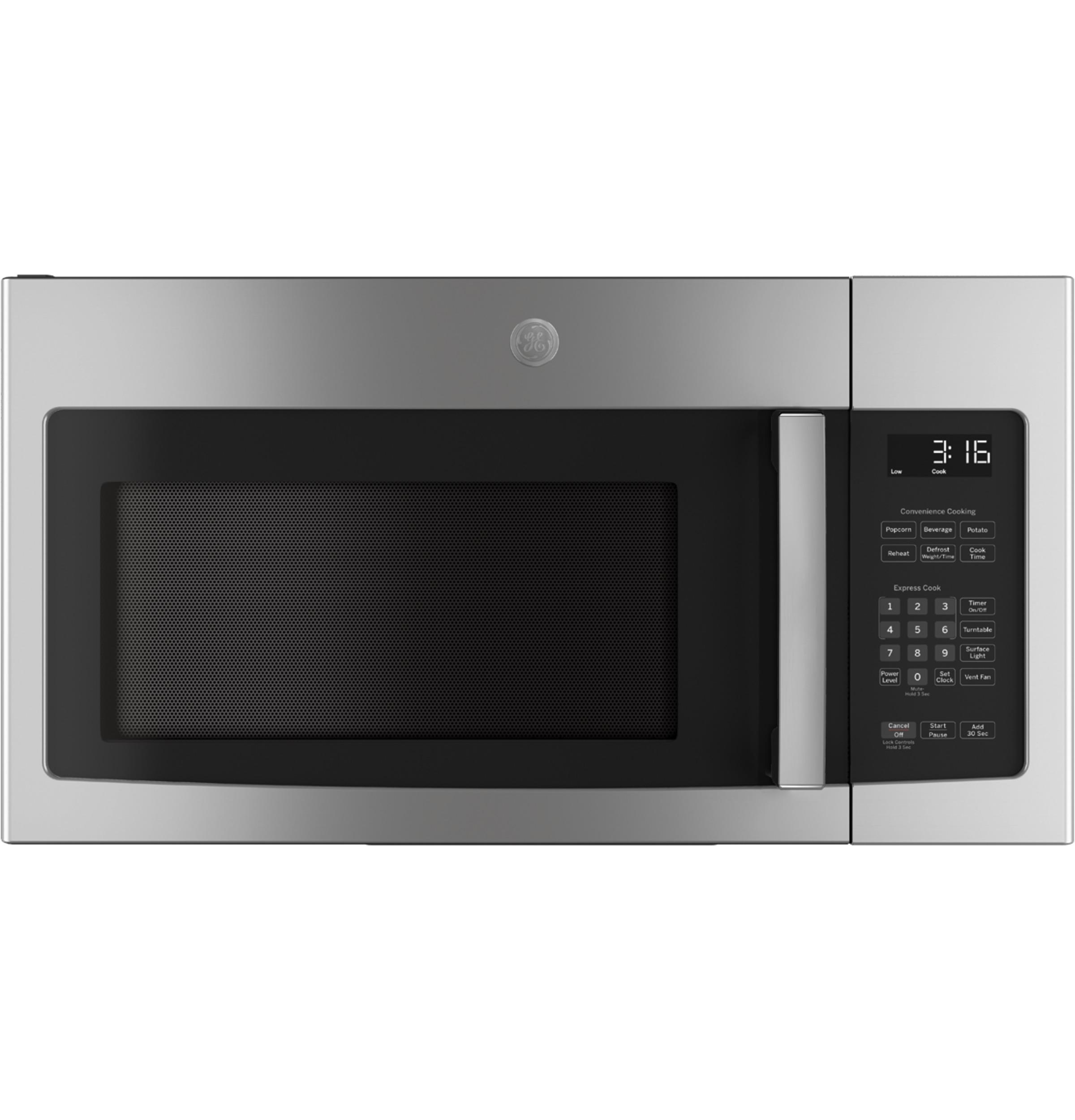 Model: JVM3162RJSS | GE GE® 1.6 Cu. Ft. Over-the-Range Microwave Oven