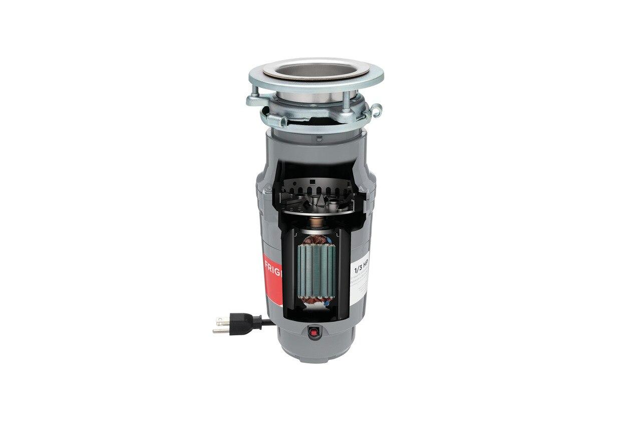 Model: FF03DISPC1 | Frigidaire 1/3 HP Corded Disposer