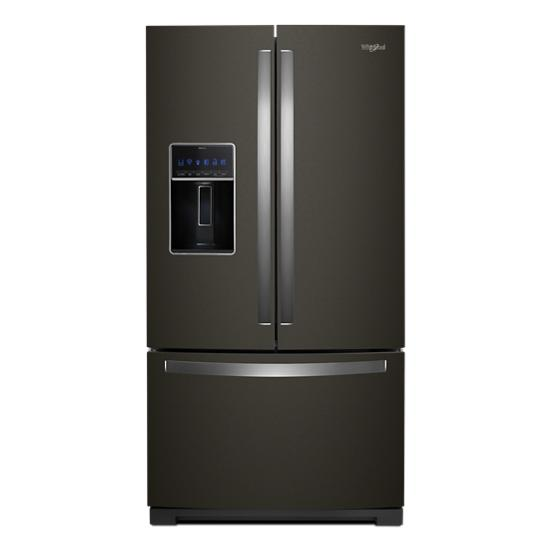 Whirlpool 36-inch Wide French Door Refrigerator - 27 cu. ft.