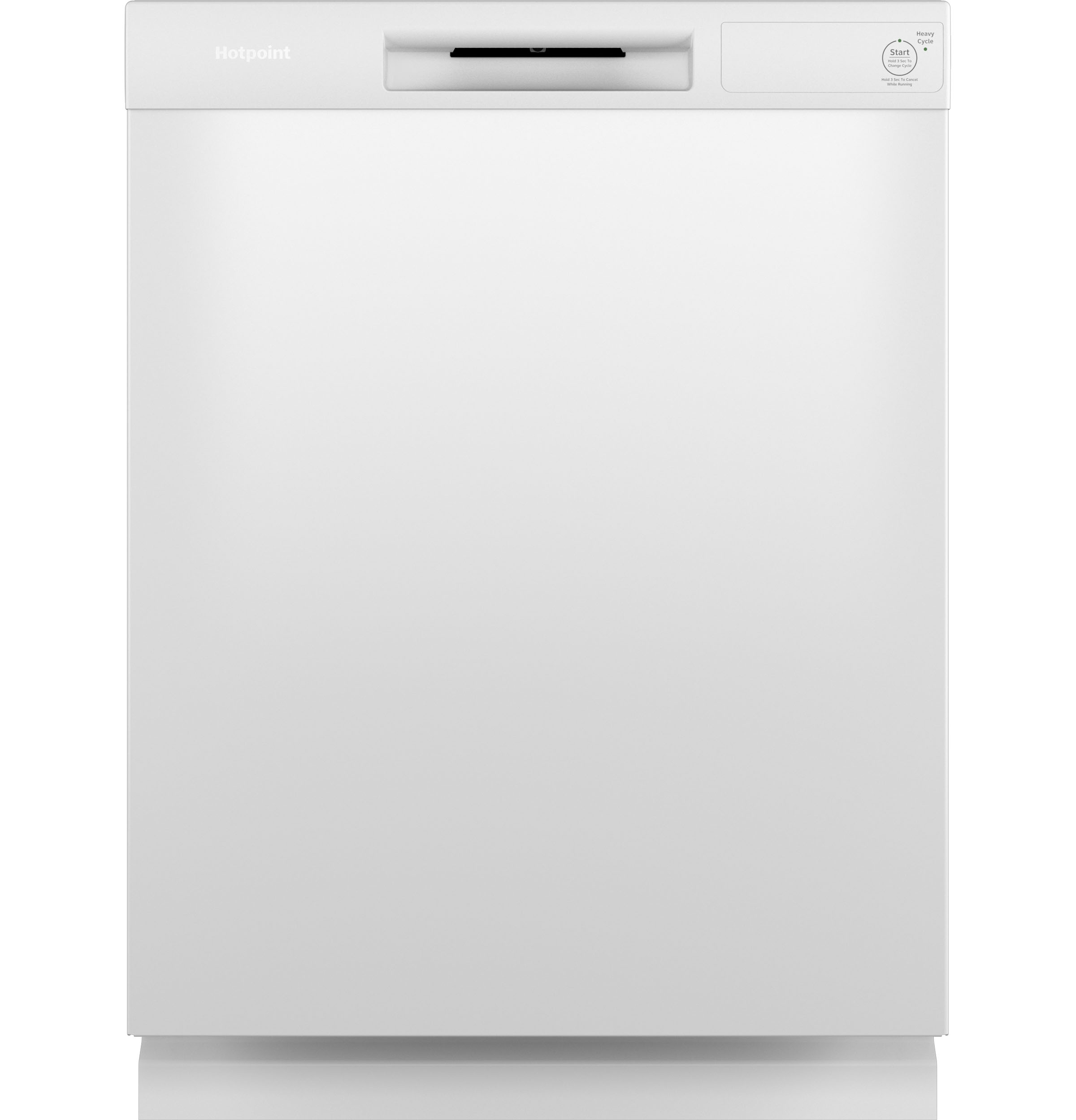 Hotpoint Hotpoint® One Button Dishwasher with Plastic Interior
