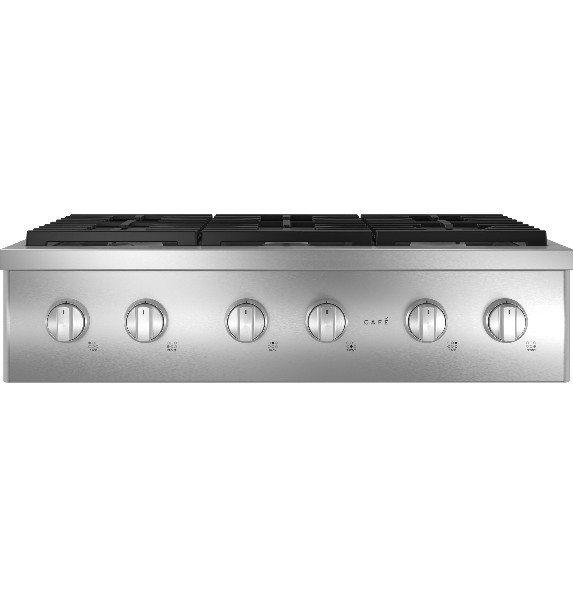 "Cafe Café™ 36"" Commercial-Style Gas Rangetop with 6 Burners (Natural Gas)"