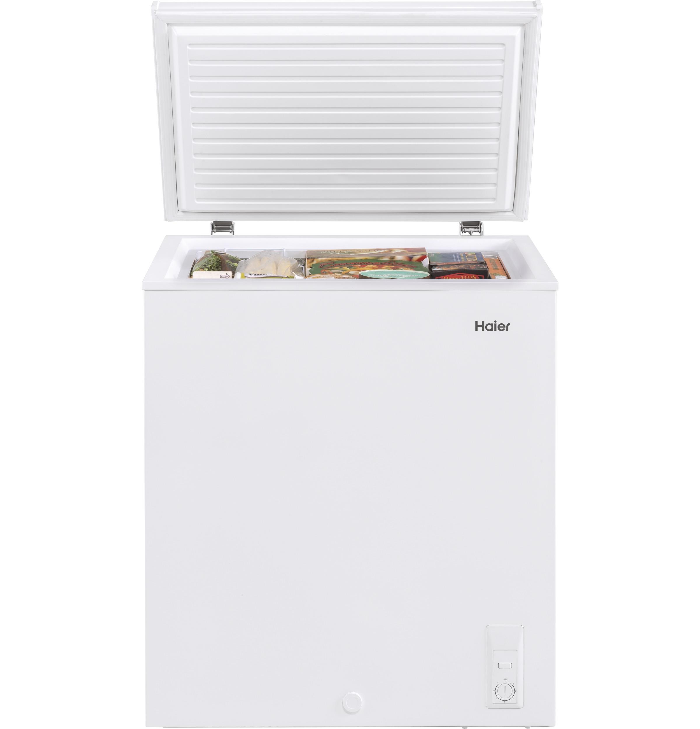 Model: HF50CW20W | Haier 5.0 Cu. Ft. Capacity Chest Freezer