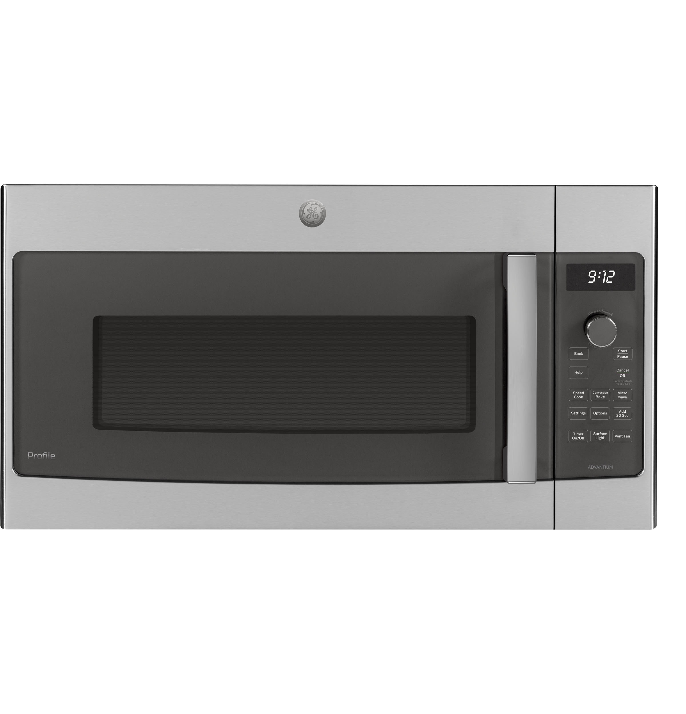 Model: PSA9120SPSS | GE Profile GE Profile™ Over-the-Range Oven with Advantium® Technology