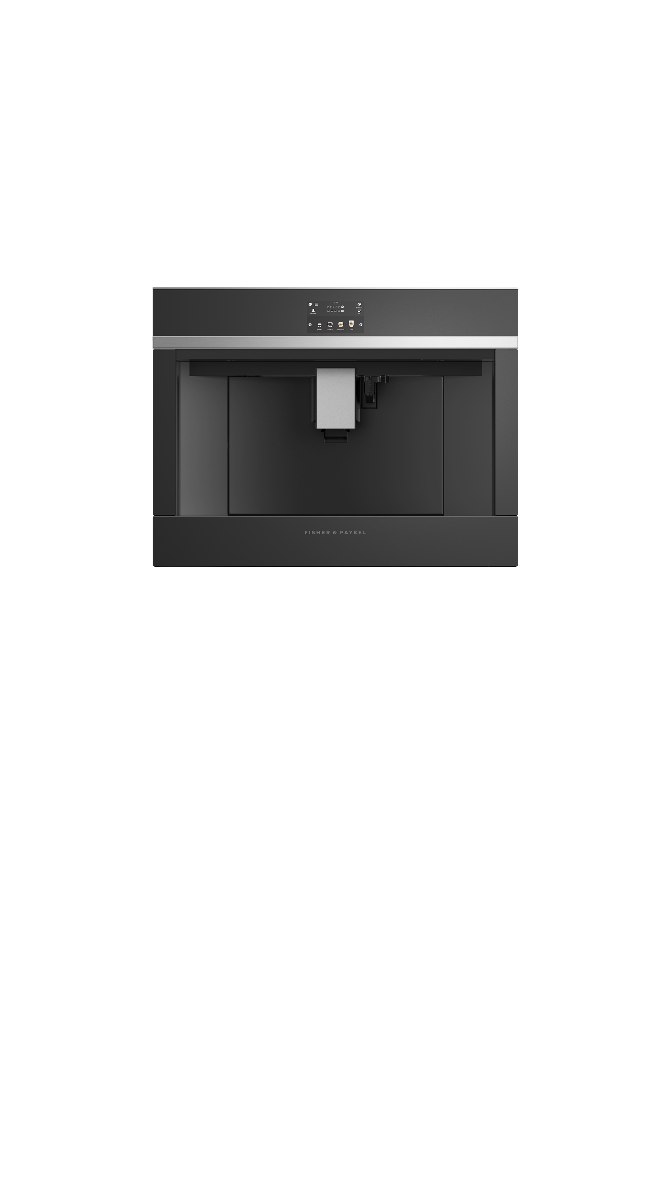 Model: EB24DSXB1 | Fisher and Paykel Built-in Coffee Maker, 24""