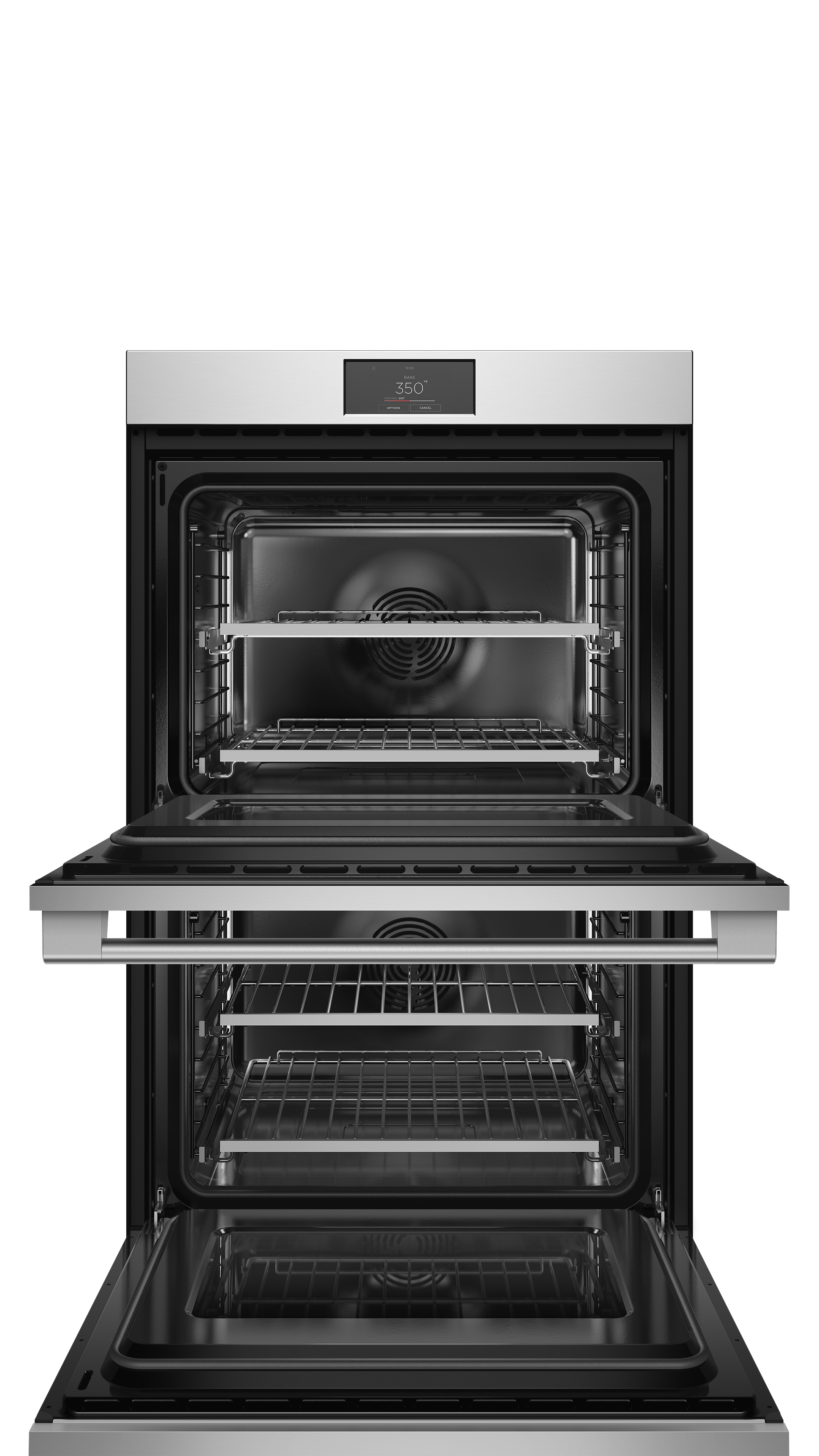 """Fisher and Paykel Double Oven, 30"""", 8.2 cu ft, 17 Function, Self-cleaning"""