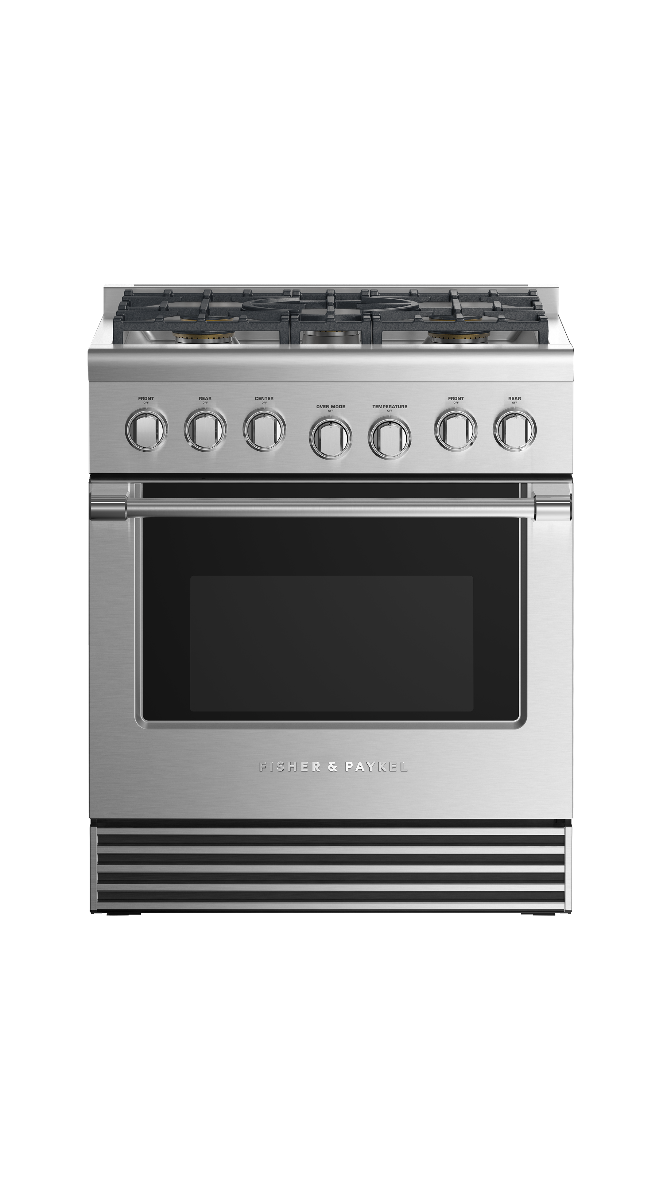 """Fisher and Paykel Dual Fuel Range, 30"""", 5 Burners, LPG"""