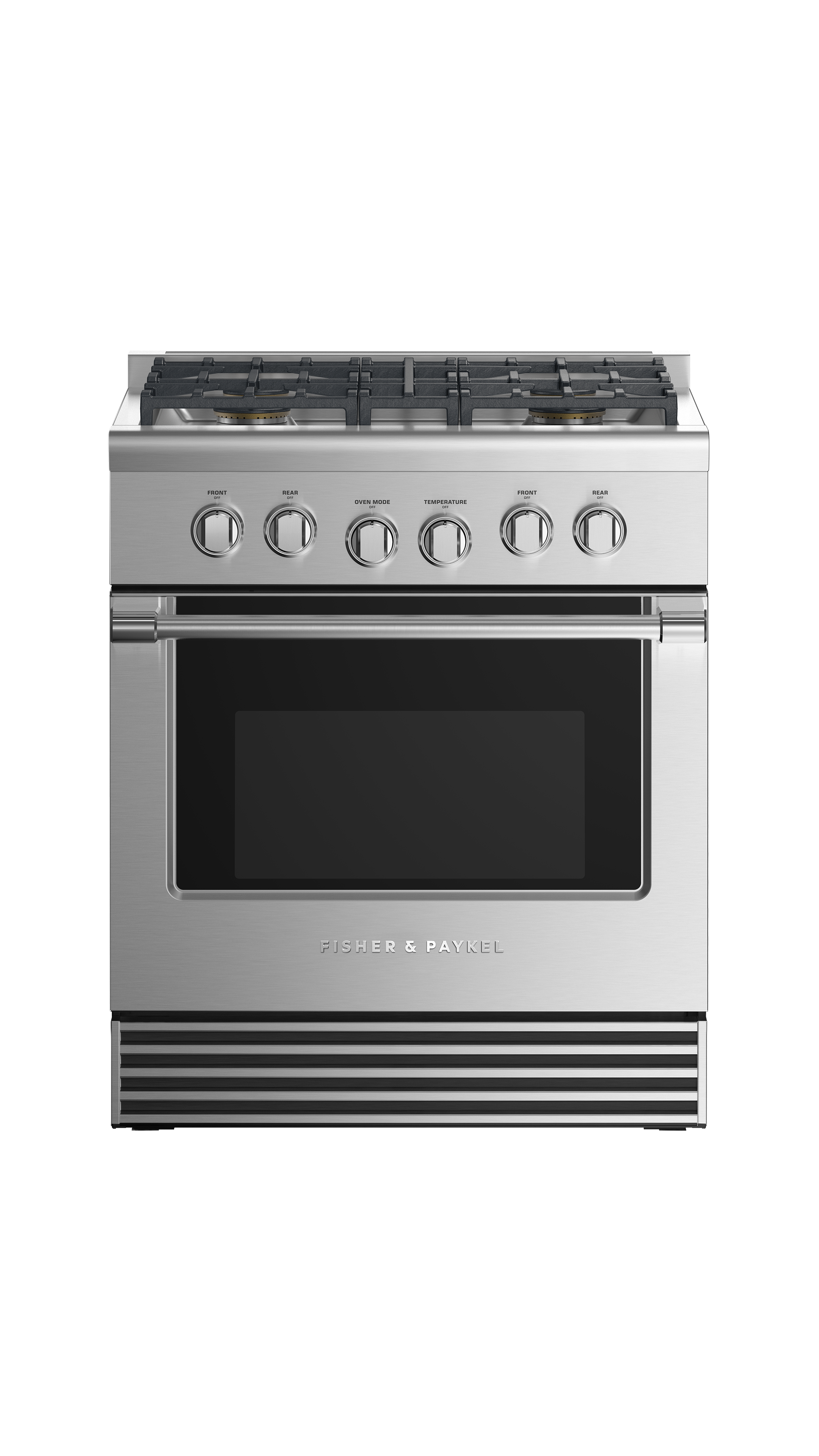 """Fisher and Paykel Gas Range, 30"""", 4 Burners, LPG"""