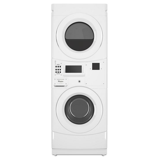 Whirlpool Commercial Electric Stack Washer/Dryer, Non-Vend
