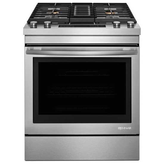 "Model: JDS1750FS | Jenn-Air Euro-Style 30"" Dual-Fuel Downdraft Range"