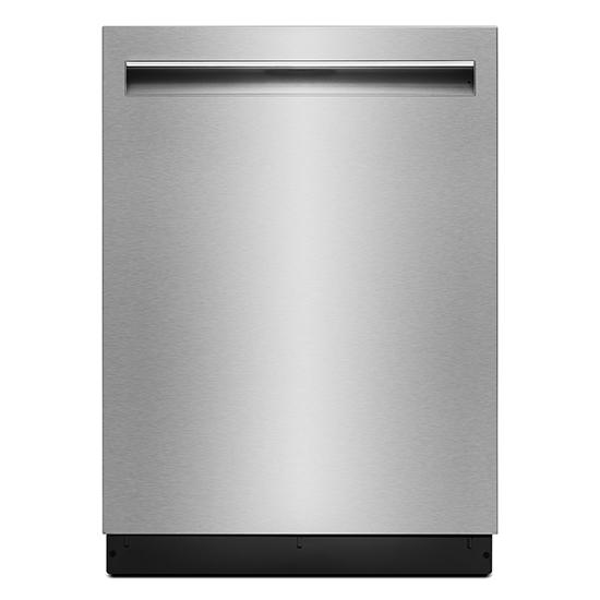 "Jenn-Air Lustre Stainless 24"" TriFecta™ Pocket-Handle Dishwasher, 38 dBA"