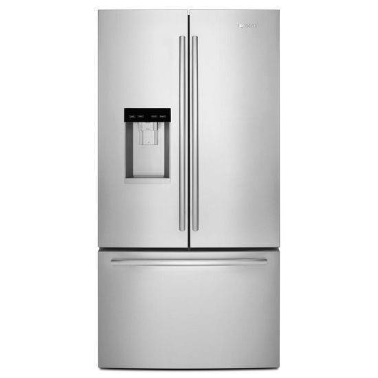 "Jenn-Air Euro-Style 72"" Counter-Depth French Door Refrigerator with Obsidian Interior"