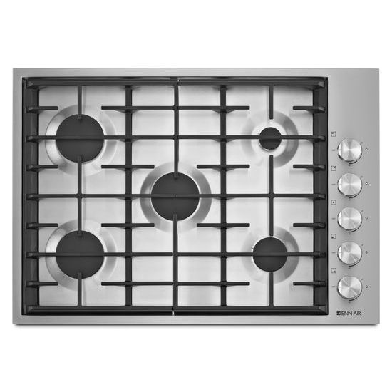 "Model: JGC7530BS | Jenn-Air Euro-Style 30"" 5-Burner Gas Cooktop"
