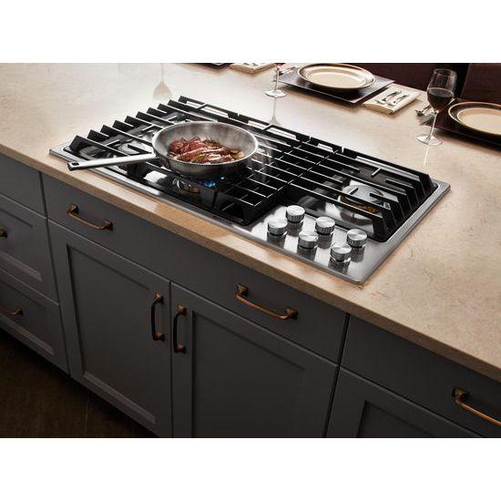 "Jenn-Air Euro-Style 36"" JX3™ Gas Downdraft Cooktop"