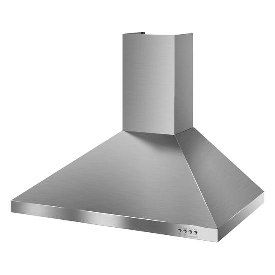 Model: WVW7330JS | Whirlpool Gold® 30-inch Vented 300-CFM Wall-Mount Canopy Hood