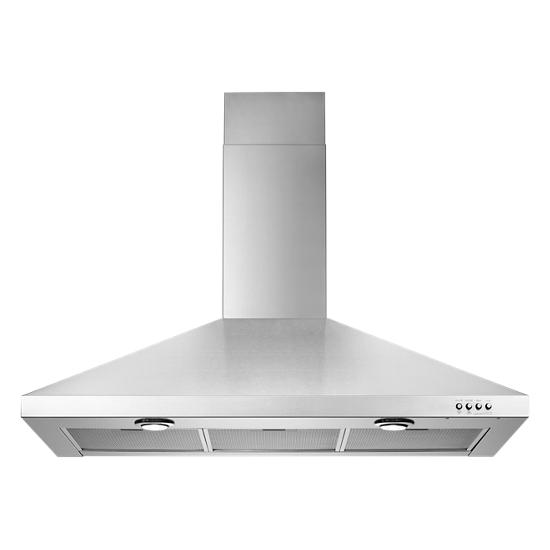 Model: WVW7336JS | Whirlpool Gold® 36-inch Vented 300-CFM Wall-Mount Canopy Hood