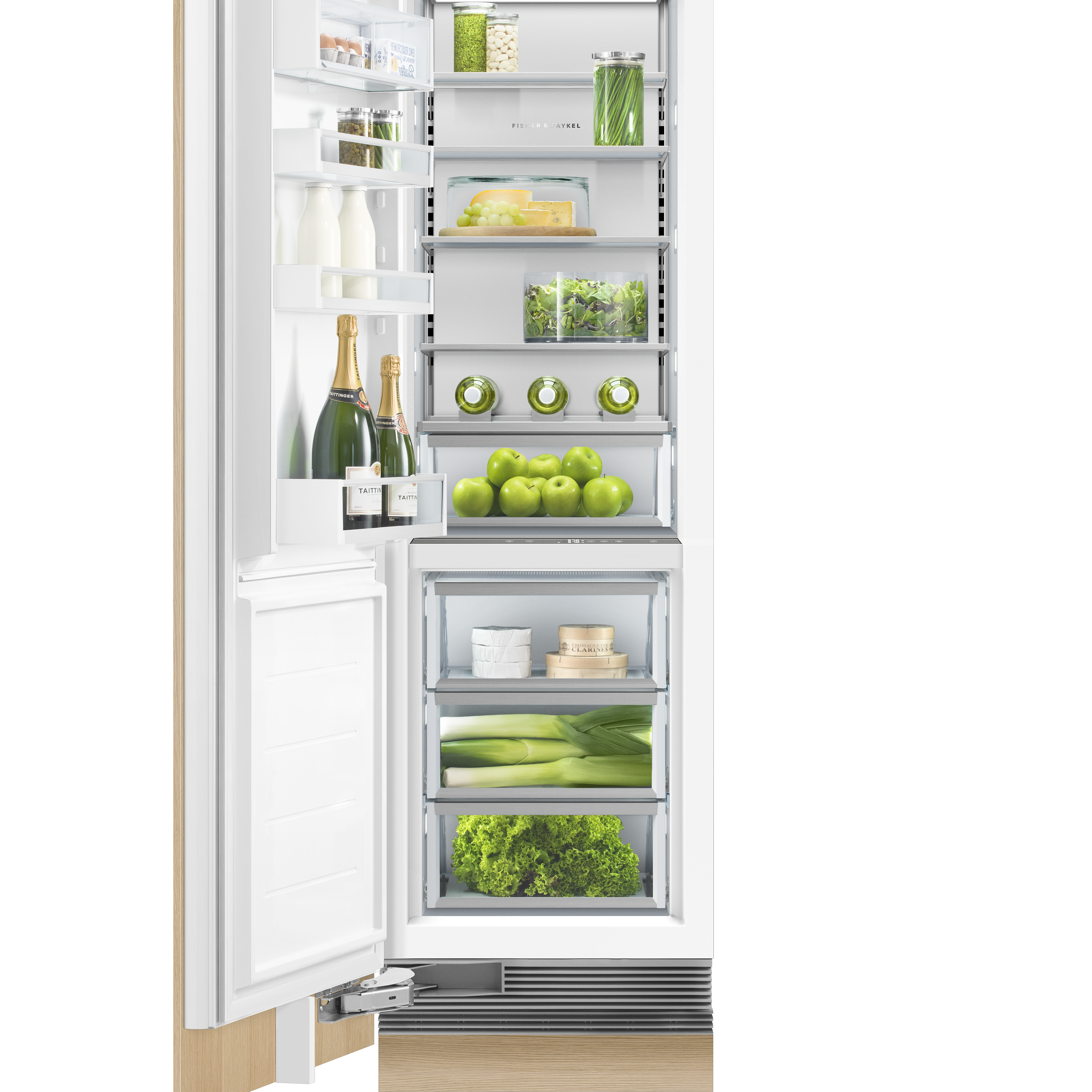 Fisher and Paykel Integrated Column Refrigerator, 24""