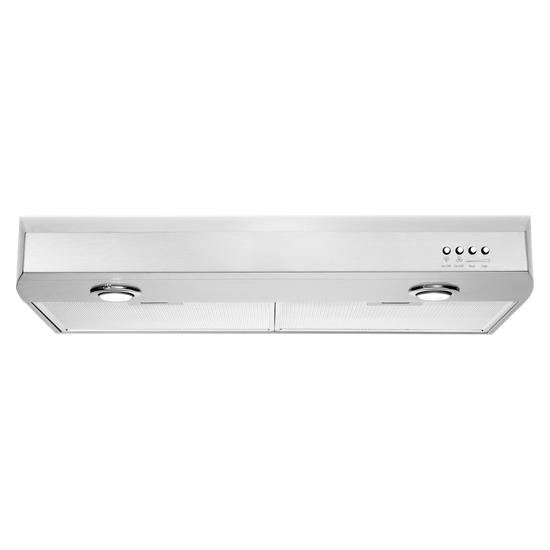Whirlpool Gold® 30-inch Vented 300-CFM Under-Cabinet Hood
