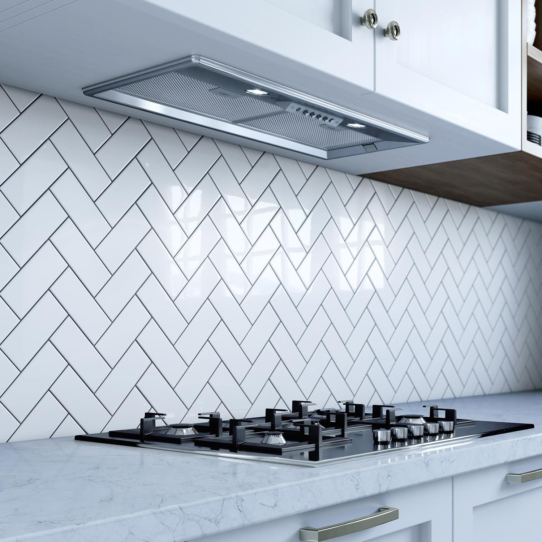 """XO Appliances 27"""" 600/395 CFM Insert For Custom Built Hood Italian Made, Stainless"""