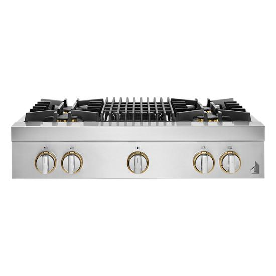 """Jenn-Air RISE™ 36"""" Gas Professional-Style Rangetop with Grill"""