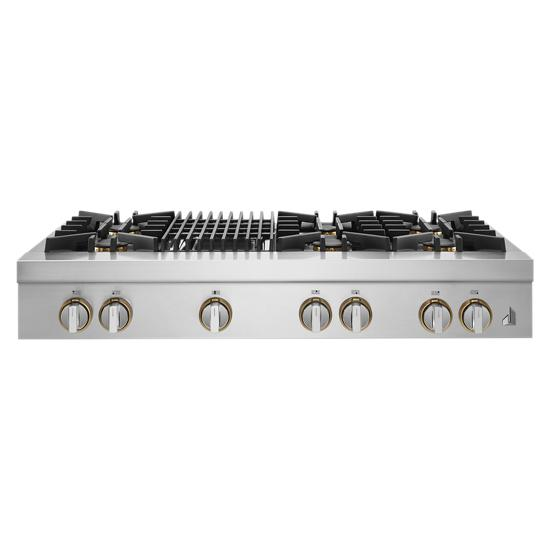 """Jenn-Air RISE™ 48"""" Gas Professional-Style Rangetop with Grill"""