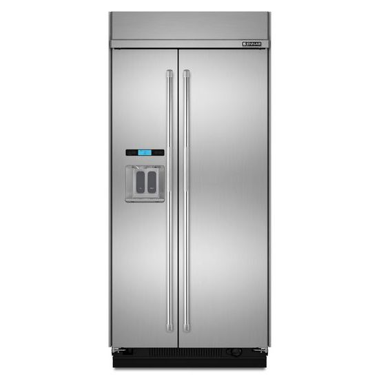 """Jenn-Air 42"""" Built-In Side-by-Side Refrigerator with Water Dispenser"""