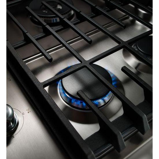 "Model: KCGS550ESS | KitchenAid 30"" 5-Burner Gas Cooktop"