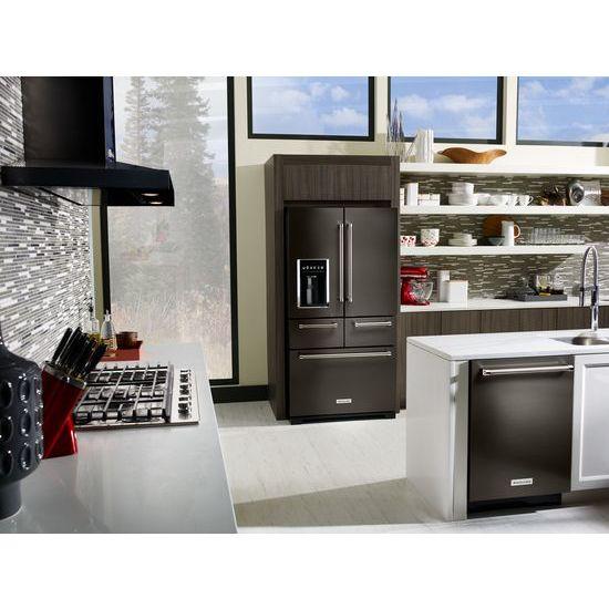 "Model: KCGS956ESS | KitchenAid 36"" 5-Burner Gas Cooktop with Griddle"