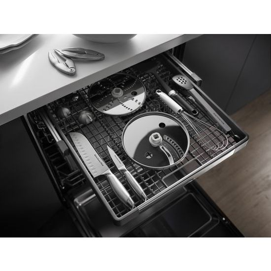 Model: KDTM504EPA | KitchenAid 44 dBA Dishwasher with Panel-Ready Design